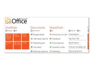 Microsoft Windows Phone 7 - Office Hub