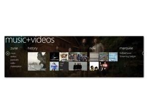 Microsoft Windows Phone 7 - Music and Video hub