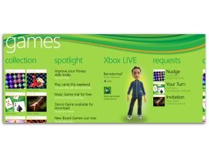 Microsoft Windows Phone 7 - Games hub