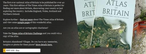 Atlas of Britain game