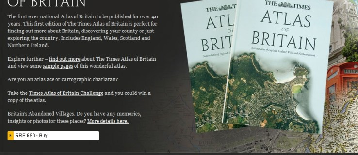 Atlas of Britain game
