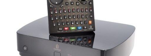 The ScreenPlay DX comes with a Qwerty remote control that makes it easy to surf the web from the comfort of your sofa