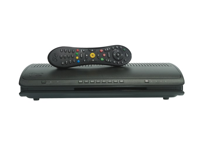 Virgin Media TiVo - front view