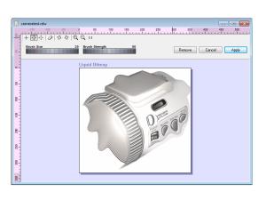 REAL-Draw Pro 5 - Liquid Shape tool