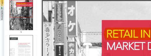 Nitro PDF Reader 2 - toolbar closeup