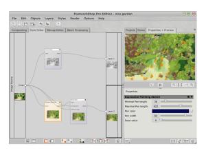 PostworkShop 2 - style editor