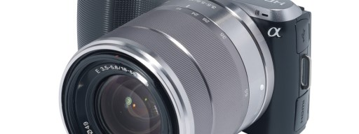 Sony Alpha NEX-C3 - front
