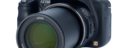 Panasonic Lumix DMC-FZ150 - front view