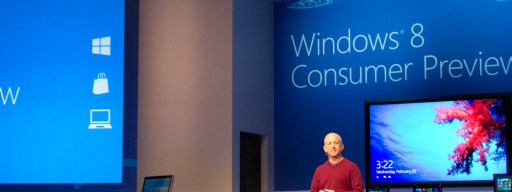 Stephen Sinofsky unveils the Windows 8 Consumer Preview at MWC in Barcelona