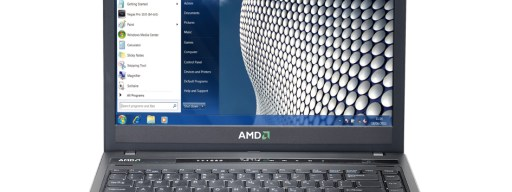 AMD Trinity - Dell Vostro 3400 test-bed - front