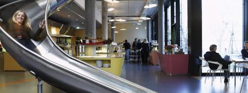 Google offices slide