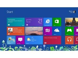 Windows 8 - Metro Start screen