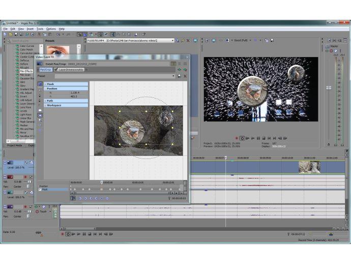 Sony Vegas Pro 12 Edit - masks