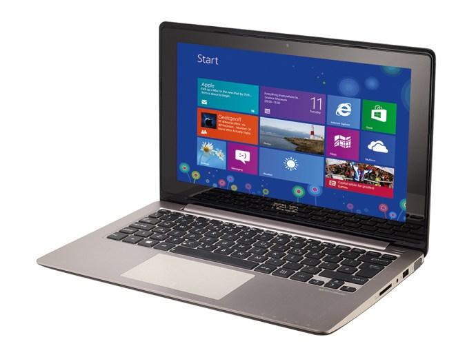 Asus VivoBook S200 - front 3/4