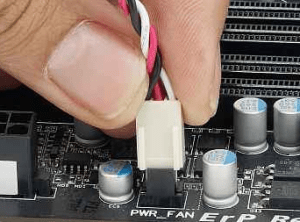 How to fit the internal cables