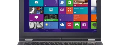 Lenovo Yoga 13 - front 1