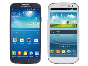 Samsung Galaxy S4 v Samsung Galaxy S3