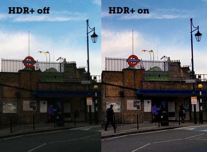 Nexus 5 - HDR+ vs standard photo
