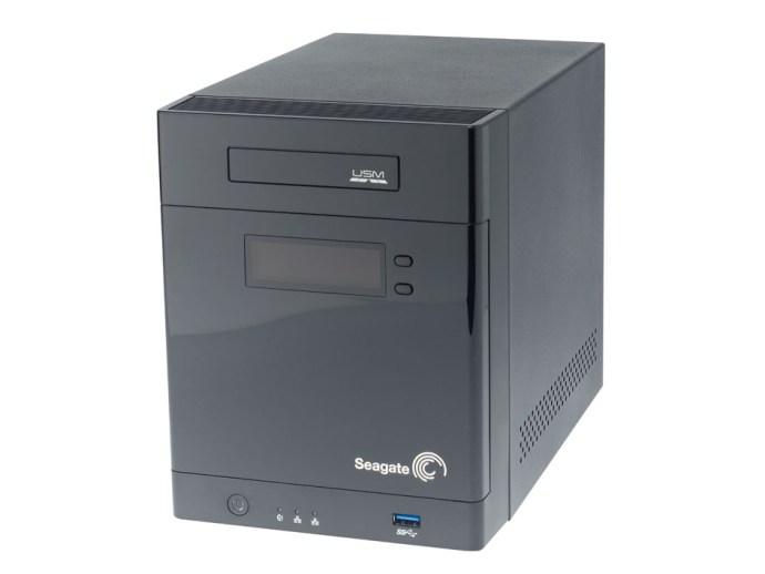 Seagate Business Storage NAS de 4 bahías