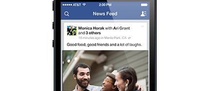 Facebook scores with mobile advertising