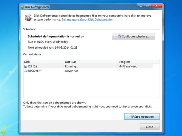 How To Defrag In Windows 7 Speed Up Startup Times And Free Up Disk Space
