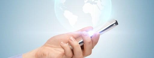 3D hologram phone