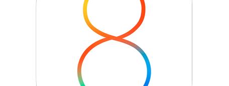 iOS 8 logo