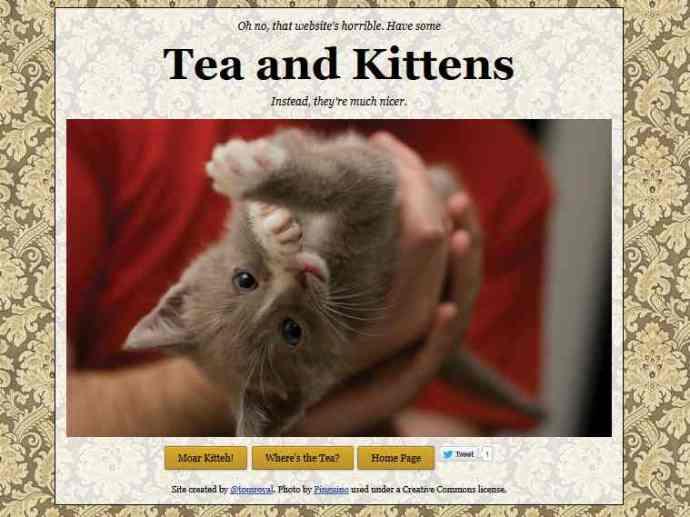 Tea and Kittens