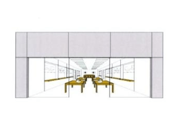 Apple Store Drawing