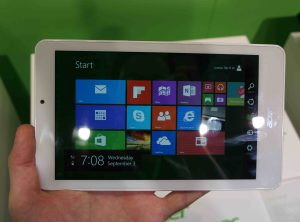 Acer Tab 8W review metro