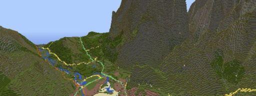 Snowdonia Minecraft GB
