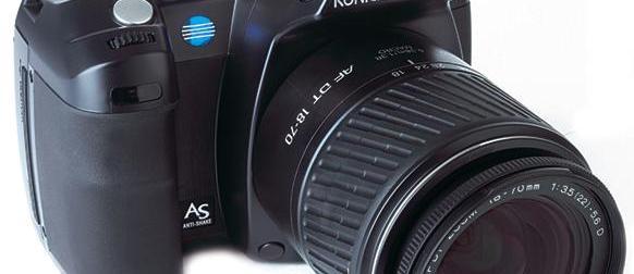 Konica Minolta Dynax 5D review