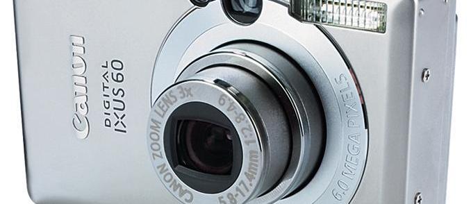Canon Digital Ixus 60 review