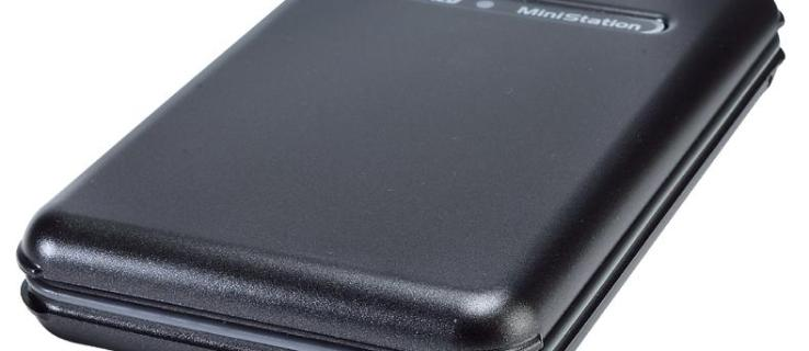 Buffalo MiniStation TurboUSB review