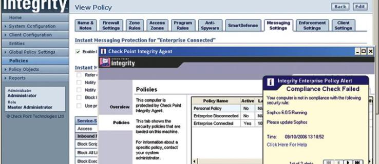 Check Point Integrity 6.5 review