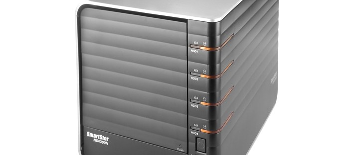 Promise SmartStor NS4300N-2TB review