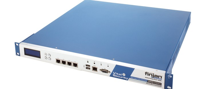 Finjan Vital Security Web Appliance NG-5000S review