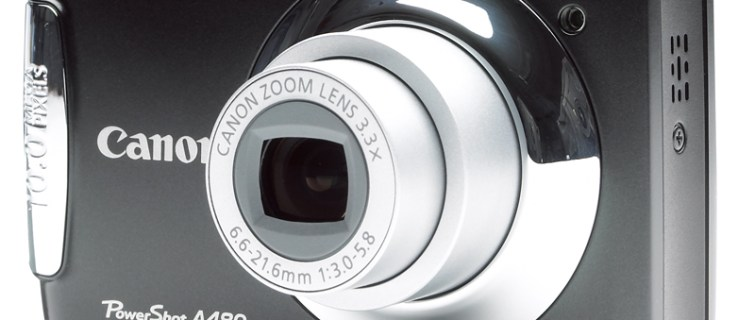 Canon PowerShot A480 review