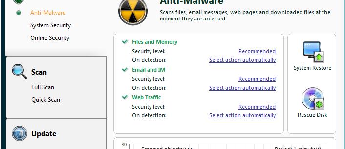 Kaspersky Anti-Virus 2009 review