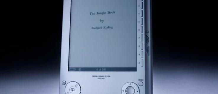 Sony Reader PRS-505 review