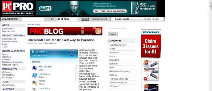 Microsoft Internet Explorer 8 review