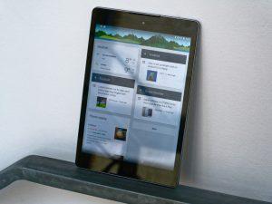 Google Nexus 9 front