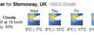 stornoway-weather