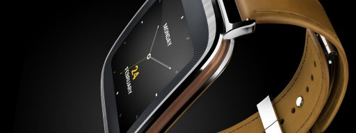 Asus ZenWatch - black background