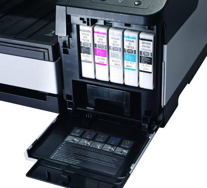Epson Stylus Pro 4900 review - ink tanks