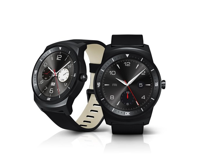 LG G Watch R review - different watch faces