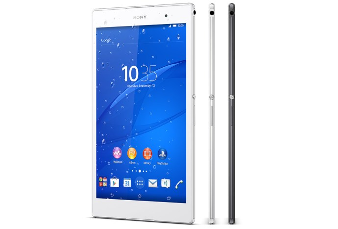 Sony Xperia Z3 Tablet Compact - edges