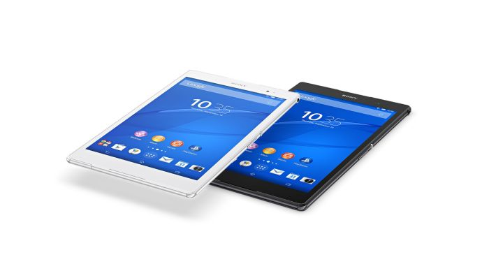 Sony Xperia Z3 Tablet Compact - black and white versions