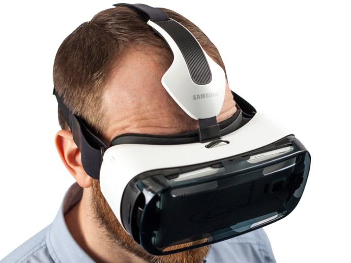 Samsung Gear VR - in use
