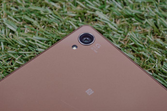 Sony Xperia Z3 - 20.7MP rear camera